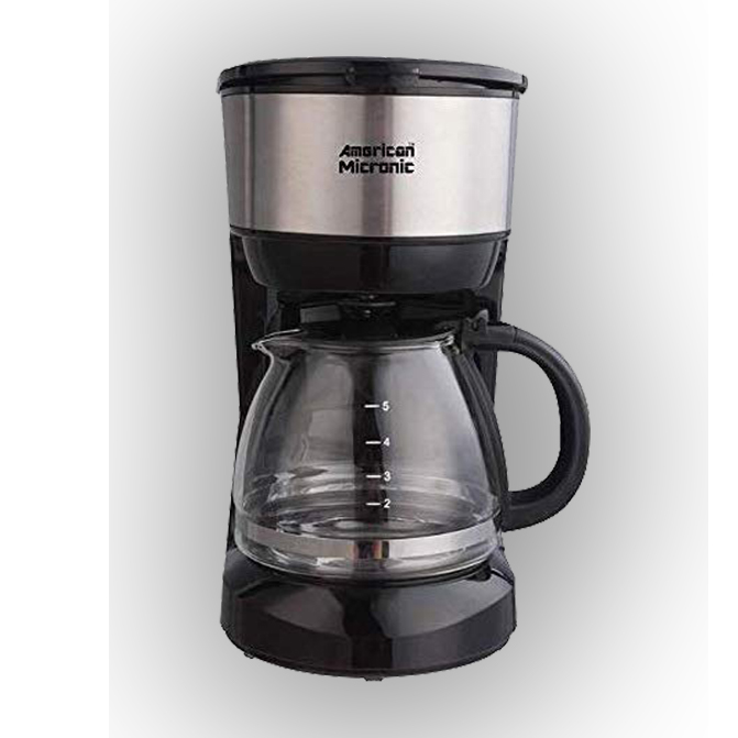 750ML Coffee Maker with Reusable Filter - American Micronic India
